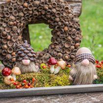 Sekalaiset sienet 3cm x 5cm langalla 48kpl