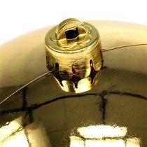Muovipallo kultainen pieni Ø14cm 1kpl