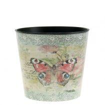 Koristeellinen ruukku vintage perhonen Ø10.5cm