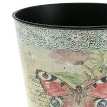 Koristeellinen ruukku vintage perhonen Ø17cm