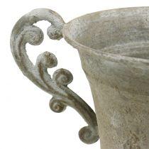 Antiikkikuppi harmaa Ø14,5cm K21cm