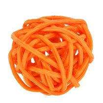 Rottinki pallo oranssi keltainen aprikoosi 72kpl