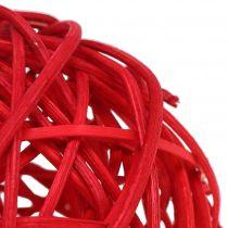 Rottinki pallo punainen Ø7.5cm 15kpl