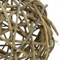 Deco Ball Vine Wood Luonnollinen Tumma Ø20cm