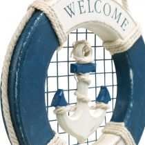 Deco pelastusrengas, merellinen, kelluva rengas ripustettavaksi Ø14cm