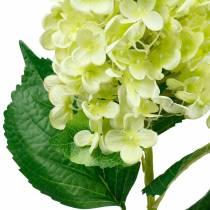 Keinotekoinen piikki hortensia, hortensia vihreä, korkealaatuinen silkkikukka 98cm