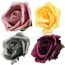 Foam Rose Ø15cm eri värejä 4kpl
