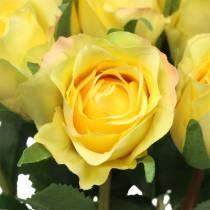 Ruusukeltainen 42cm 12kpl