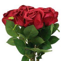 Ruusunpunainen 44cm 6kpl