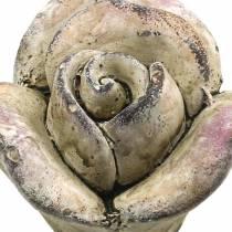 Betoni Ruusunharmaa, Violetti Ø7,7 H5,5cm 3kpl