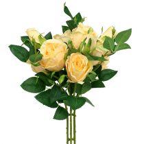 Ruusukimppu kerma L46cm