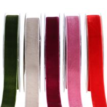 Samettinauha eri värejä 20mm 10m