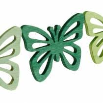 Scatter koriste perhoset, kevät, perhoset puusta, pöydän koristelu hajottaa 72kpl