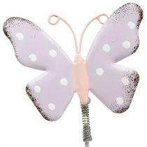 Kukkatapit perhospastelli 24cm 12kpl