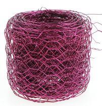 Kuusikulmainen punos vaaleanpunainen 50mm 5m