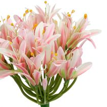 Silkkikukka agapanthus vaaleanpunainen 80cm