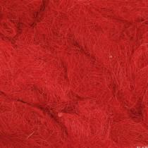Sisal punainen 500g Luonnonkuitu