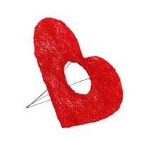 Sisal-ranneke punainen 15cm 10kpl.