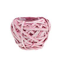 Sirukori pyöreä Ø15cm H14cm vaaleanpunainen