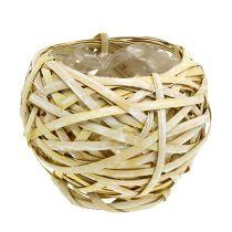 Sirukori pyöreä keltainen Ø18cm K16cm