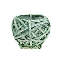 Sirukori pyöreä vihreä Ø15cm K14cm