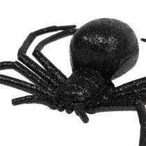 Spider musta 16cm kiille