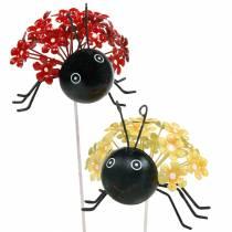 Puutarhatulppa kukka leppäkerttu punainen, keltainen valikoima 2kpl