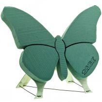 Vaahtomuovihahmo perhonen jalustalla 56cm x 40cm