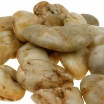 Jokikiviä luonto crème 3-5cm 1kg