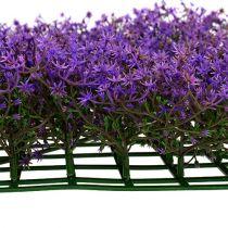 Tähtikukkamatto 25cm x 25cm violetti