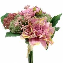 Kimppu Dahlia, Protea 25cm