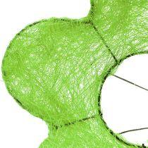Sisal kimppumansetti vihreä Ø15cm 10kpl