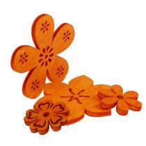 Hajonnut puukukka oranssi 2cm - 4cm 96p