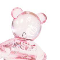 Hajotettu karhu vaaleanpunainen 3,5 cm 60p