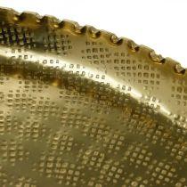 Tarjotin Orient Optics, Deco Plate Golden, Metal Deco Ø18,5cm