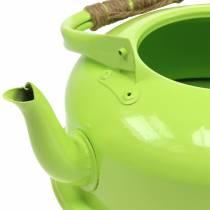 Istutin teekannu sinkki voi vihreä Ø26cm H15cm