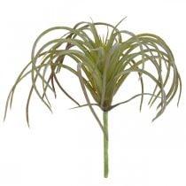 Tillandsie keinotekoinen tulppaamiseen vihreä-violetti keinotekoinen kasvi 13cm