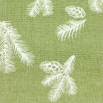 Pöytänauha kuusikuvionvihreällä 20cm 5m