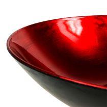 Pöytäkulho punainen Ø28cm muovia