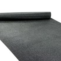 Pöytakoriste musta 50cm 3m