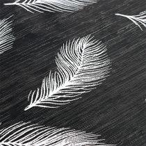 Pöytäjuoksija höyhenkuvioilla 30cm x 500cm