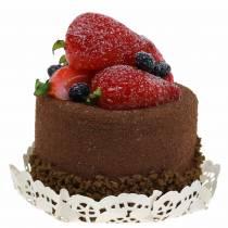 Koristeellinen kakku-suklaaruokakopio 7cm