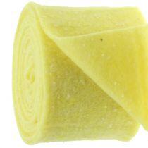 Potin saranahuopa teippi keltainen pisteillä 15cm x 5m