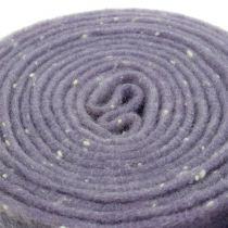 Potin saranahuopa violetti, pisteillä 15cm x 5m