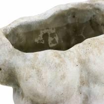 Kasvi ruukku Torso Mies Harmaa 19×13,5cm K28cm