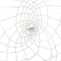 Unisieppari sydän valkoinen 55cm 2kpl
