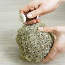 Kuiva tulppaava massapallo Ø9cm 12kpl.