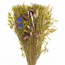 Kuivatut kukat kukkakimppu luonnon vaaleanpunainen 45cm