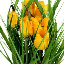 Tulppaanit ruukussa keltainen 30cm