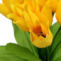 Tulppaaniholkki keltainen H30cm